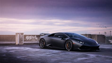 lamborghini huracan wallpaper lamborghini huracan on adv1 wheels wallpapers hd