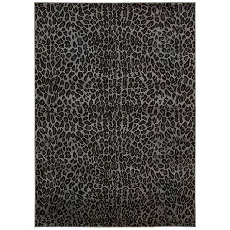 Studio Area Rugs Nourison Studio Charcoal 5 Ft 3 In X 7 Ft 3 In Area Rug 301574 The Home Depot