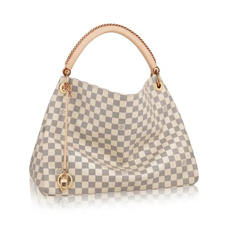 Louis Vuitton New Louis Vuitton Damier Azur Collection by Artsy Mm Damier Azur Canvas Handbags Louis Vuitton