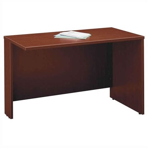 Mahogany Corner Desk Bush Business Series C 4 L Corner Hutch Desk In Mahogany Bsc057 367