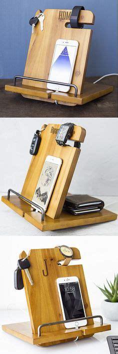 docking station charging station organizer nightstand l personalized wood phone docking station organizer wood