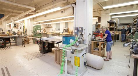 college woodworking woodshop kendall college of and design of ferris
