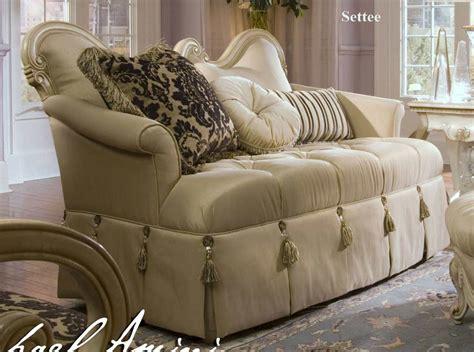 aico living room furniture lavelle blanc sofa by aico aico living room furniture
