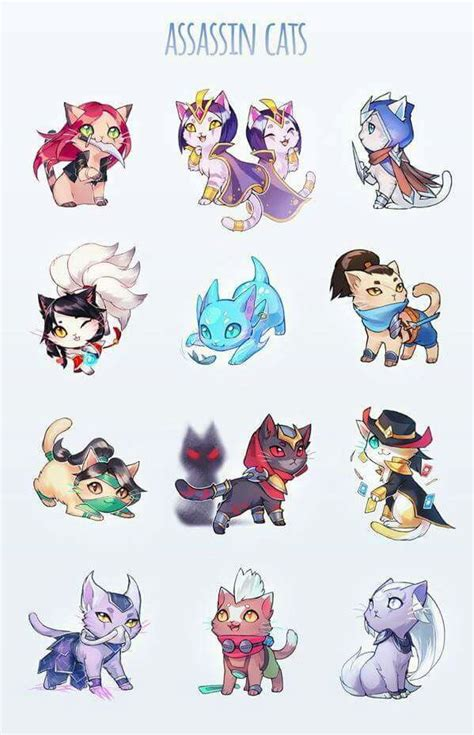 League Of Legends 11 Bv here is the assassin cats 3 liveninegag