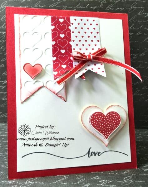 Handmade Valentines Day Cards - adorable valentines day handmade card ideas pink lover