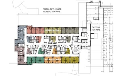 Health Center Floor Plan by Mercy St Louis Heart Amp Vascular Hospital And Emergency