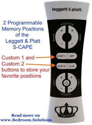 leggett and platt adjustable bed remote control leggett platt s cape review 187 bedroom solutions