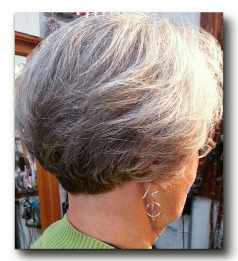 short gray hairstyles with wedge in back 1000 images about haircuts short on pinterest short