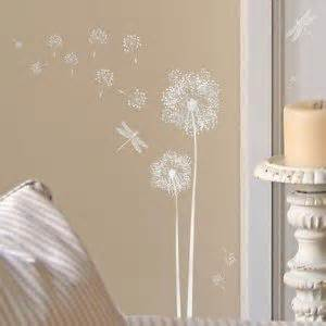 main street wall creations stickers main street dandelions and stickers on pinterest
