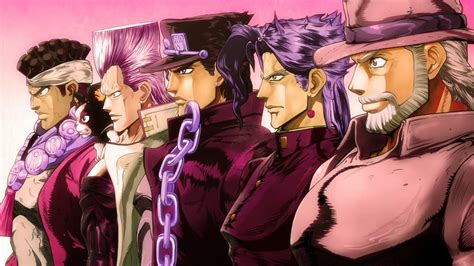 jojo stardust crusaders jjba stardust crusaders crusaders anime tree