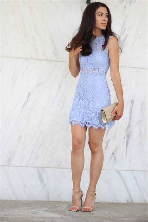 15 Dresses To Wear To A Wedding by Blue Lace Dress For An Afternoon Wedding Guest My Style