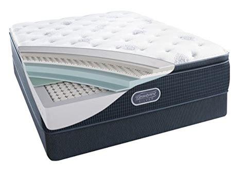 beautyrest air simmons beautyrest silver plush pillow top mattress air