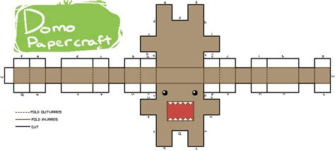 Domo Papercraft - domo papercraft pattern thing by jaywlng on deviantart