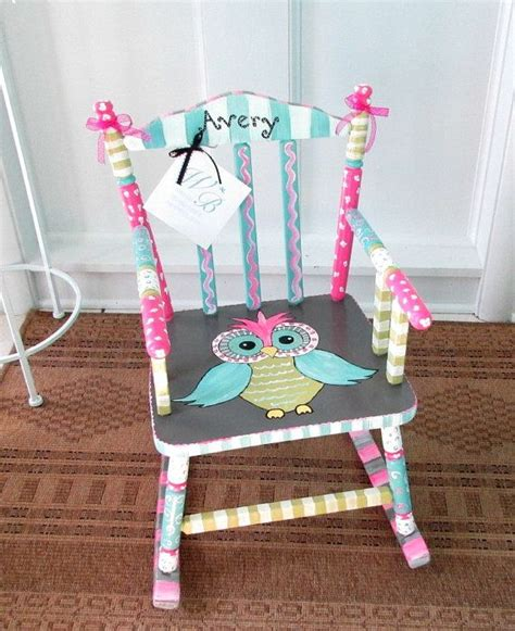 Painted Childrens Chairs by 25 Best Ideas About Rocking Chairs On