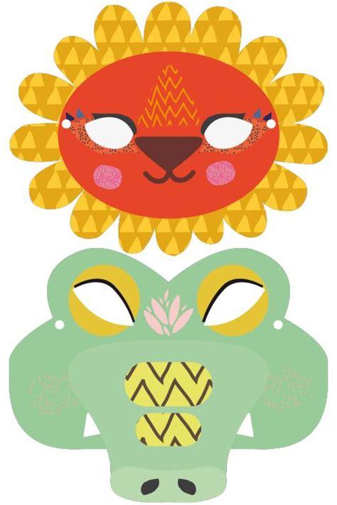 printable animal masks free printable animal masks diy pinterest