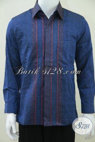Koleksi Kemeja Terbaru Kemeja Pendek Navy Best Seller kemeja tenun sby terbaru warna biru memakai furing daleman dormeuil model baju batik modern 2018
