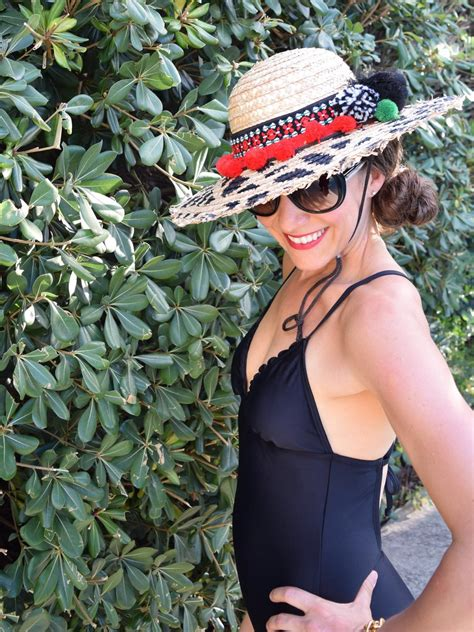 How To Make A Sun Hat Out Of Paper - how to turn a plain wicker hat into a blinged out sun hat