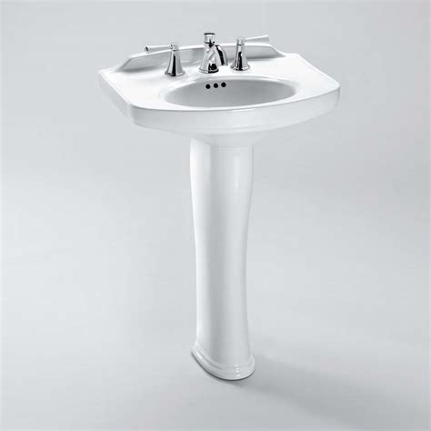 toto bathroom sink faucets toto dartmouth 174 pedestal lavatory free shipping modern