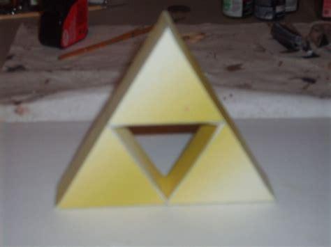 Triforce Papercraft - la trifuerza de papel el de topofarmer