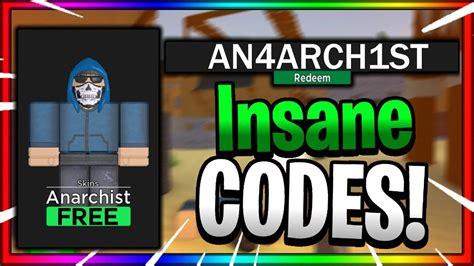 secret working codes  roblox arsenal  insane