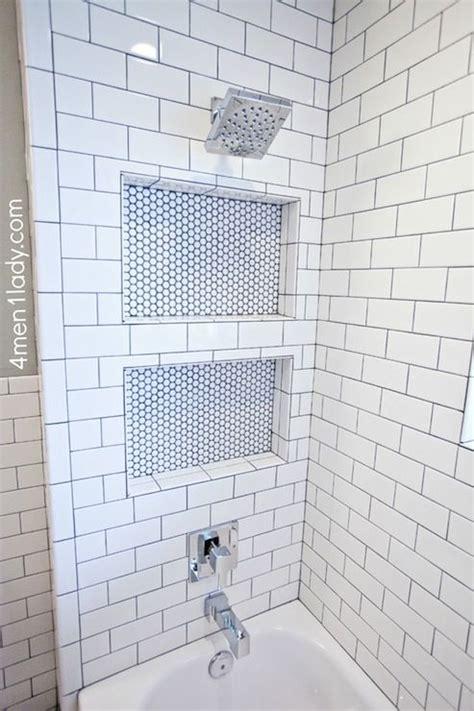 subway tile shower niches bathrooms pinterest shower niche bathroom pinterest