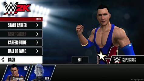 wwe 2k15 create wrestler superstar hd youtube wwe 2k career mode create a superstar gameplay
