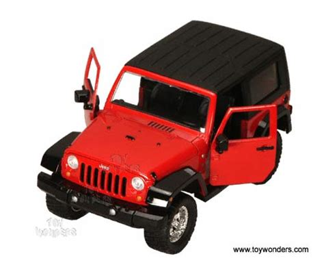 jeep toy 2007 jeep wrangler by jada toys dub city 1 24 scale