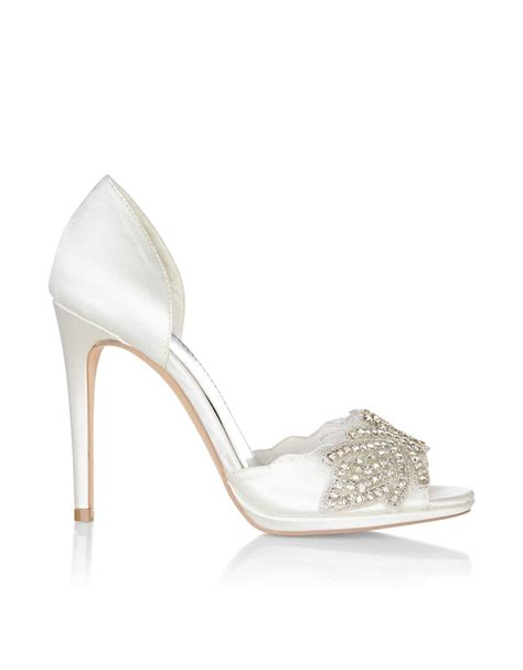 Monsoon Jewelled Sandals by Encrusted High Shoe Endource