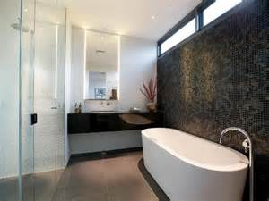 Bathroom Tile Feature Ideas by Glass In A Bathroom Design From An Australian Home