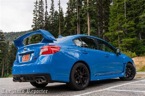 2016 subaru wrx turbo 2016 subaru wrx sti review the auto reporter