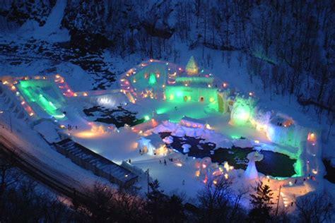 hokkaido kamikawa sounkyo hot spring tourist information