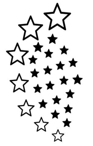 printable star tattoo designs printable star tattoos