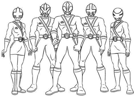 Power rangers coloring pages printable coloring sheet anbu