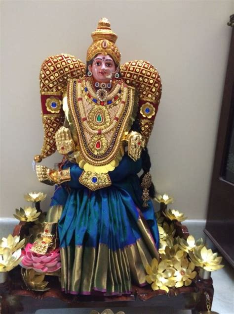Decoration For Ganesh Festival At Home by Pooja Room Decoration Ideas For Varalakshmi Pooja Room