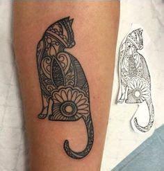 cat tattoo winnipeg cat mandala tattoo google search mandala tats