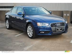 2013 scuba blue metallic audi a4 2 0t quattro sedan