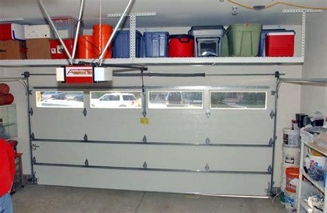 Overhead Garage Door Storage Saferacks For The Home Pinterest