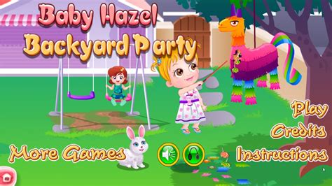 baby hazel backyard party baby hazel backyard party baby hazel backyard party
