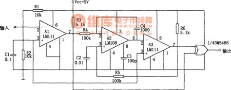 miller integrator circuit the digital frequency doubler lm108 and lm111 signal processing circuit diagram seekic