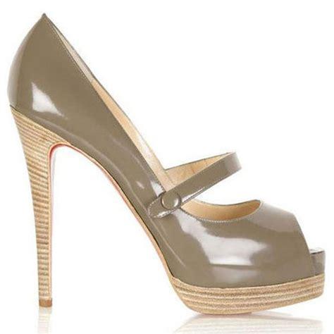 cheap grey high heels 2018 christian louboutin bottom no barre 14cm high