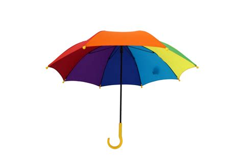 Payung Pelangi Gagang Panjang Multi Color ukuran kecil anak anak pelangi berwarna payung ukuran untuk anak anak grosir payung id produk