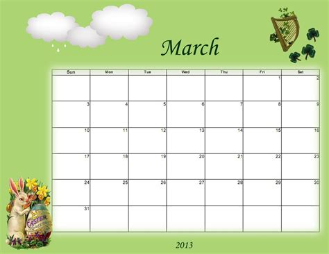 Calendã Stj Sidetracked Artist Printable And Desktop Calendars For March