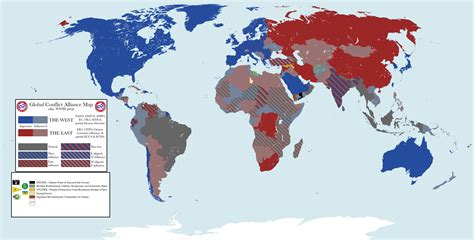 map of current us allies current alliances in the world maps