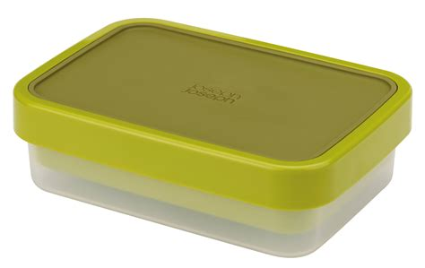 Lunch Box 2 goeat lunch box 2 stackable boxes set green by joseph joseph
