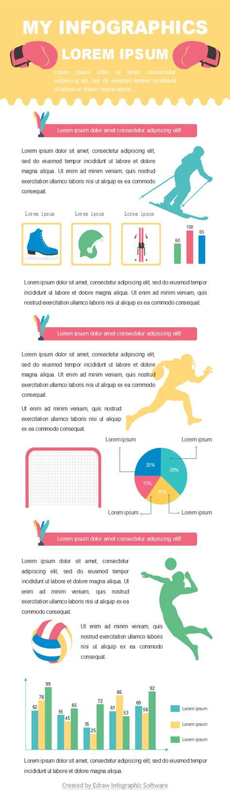 sports infographics templates sport report infographic free sport report infographic