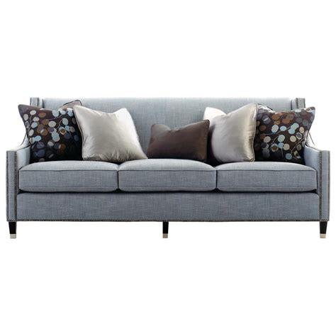 5 inch sofa emmeline hollywood regency antique nickel blue sofa 82 5