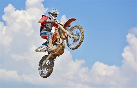 motocross dirt bikes for dirt bike air jump motocross rider 183 free photo on pixabay