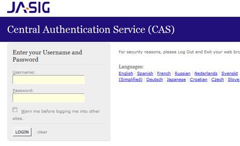 jasig cas sle of security and cas single signon