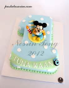 baby mickey mouse 1st birthday cake flickr photo sharing
