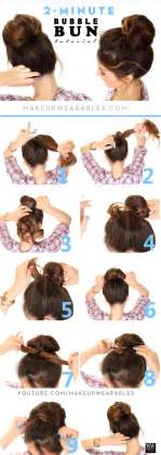25 Best Ideas About Easy Hair Buns On Pinterest Messy